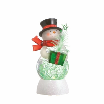 "Battery Operated Shimmer Snowman - ""Battery Operated Shimmer Snowman"""