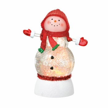 """Battery Operated Shimmer Snowman - """"Battery Operated Shimmer Snowman"""""""
