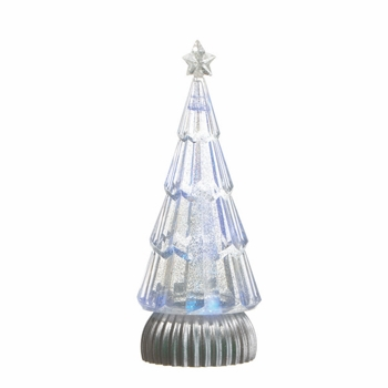 "Battery Operated Shimmer Tree - ""Battery Operated Shimmer Tree"" - White"