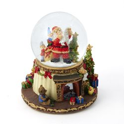 "Battery Operated Snowglobe - ""Santa"""