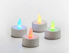 "Battery Operated Tea Light - ""Color Changing Tea Lights"""