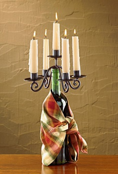 "Bottle Stopper - ""Candelabra Bottle Stopper"""