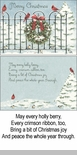 "Boxed Christmas Cards - ""Cardinals On The Gate"""