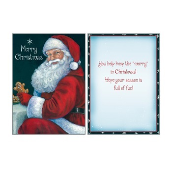 "Boxed Christmas Cards - ""Cookies For Santa"""