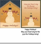"Boxed  Christmas Cards - ""Helping Hands"""
