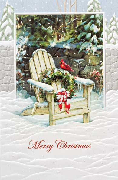 "Boxed Christmas Cards - ""Inviting Adirondack"""
