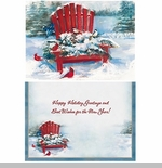 "Boxed Christmas Cards - ""Red Chair"""