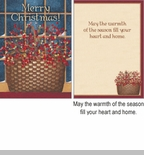 "Boxed Christmas Cards - ""Rosehip Basket"""