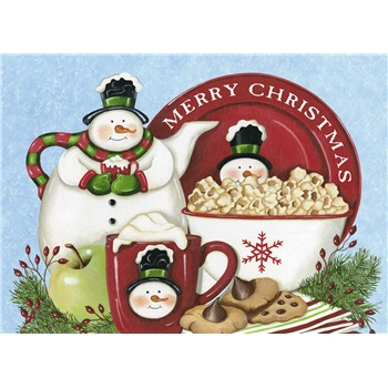 """Boxed Christmas Cards - """"Snow Day Treats"""""""