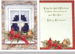 "Boxed Christmas Cards - ""Stone House Window"""