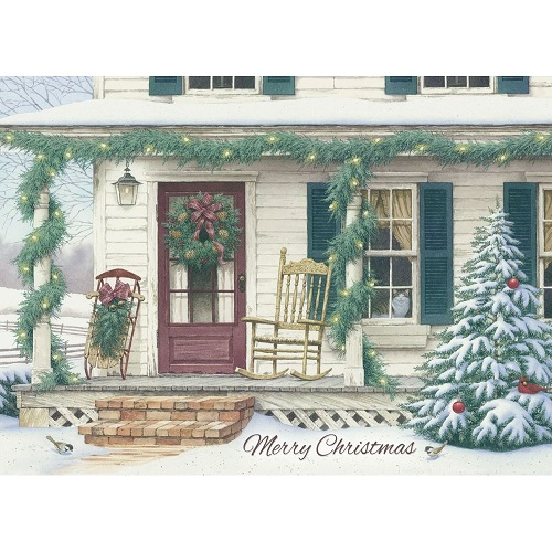 """Boxed Christmas Cards - """"Waiting For Christmas"""""""