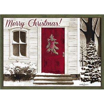 """Boxed Christmas Cards - """"Welcome Home"""""""