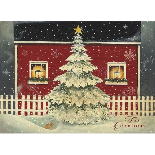 """Boxed Christmas Cards - """"Window's Glow"""""""