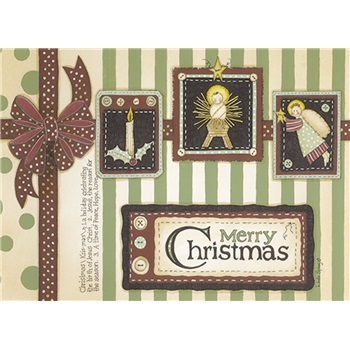 """Boxed Christmas Cards - """"Wrapped in Christmas"""""""