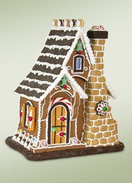 "Byers Choice Accessory - ""Sugar Cookie Gingerbread House"""