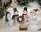 Byers Choice Snowmen