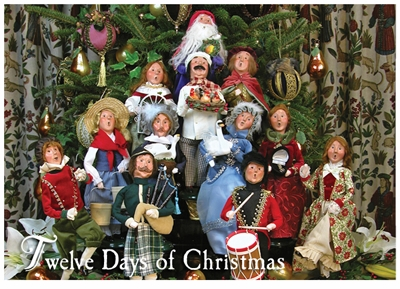 "Byers Choice Carolers - ""Twelve Days of Christmas Series"""
