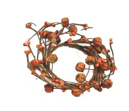"""Candle Ring - """"Pumpkin Candle Ring - 2.5 Inch"""