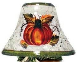"""Candle Shade - """"Autumn Harvest Candle Shade"""""""