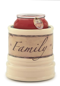 "Candle Warmer - ""Electric Large Jar Candle Warmer"" - Faith, Family, Friend"