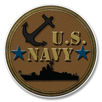 "Car Coaster - ""US Navy"""