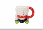 Christmas Mugs, Glassware,  Cookie Jars,  Trays, and More