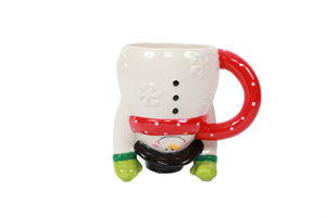 Christmas Mugs, Glassware, Cookie Jars, & Trays