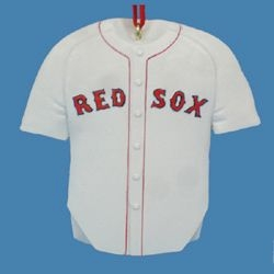 """Christmas Ornament  - """"Boston Red Sox Jersey Ornament""""  -  Can be personalized"""