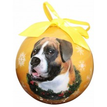 "Christmas Ornament - ""Boxer"""