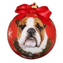"Christmas Ornament - ""Bulldog"""