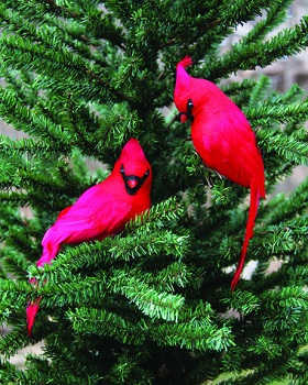 "Christmas Ornament - ""Cardinal Clip On Ornament"""
