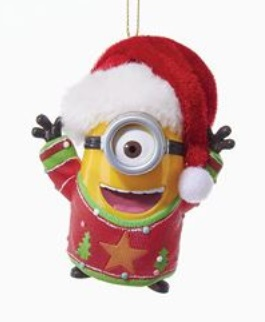 """Christmas Ornament - """"Despicable Me Ornament With Light and Sound"""""""