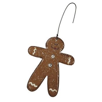 "Christmas Ornament - ""Gingerbread Man Ornament"""