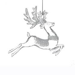 "Christmas Ornament - ""Iridescent Deer Ornament"""