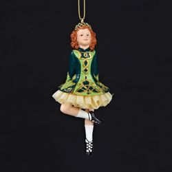 "Christmas Ornament - ""Irish Dancer"""