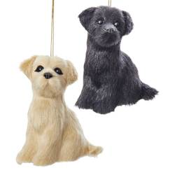 "Christmas Ornament - ""Labrador  Plush Ornament"""