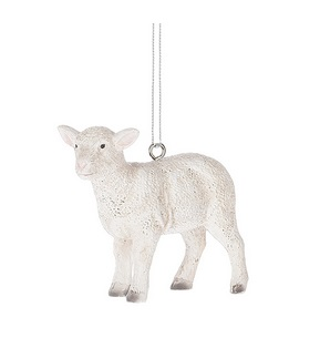 "Christmas Ornament - ""Lamb"""