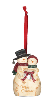 """Christmas Ornament - """"Our First Christmas Ornament"""""""