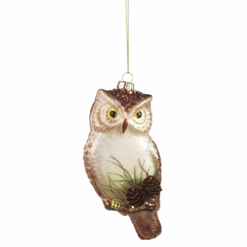 "Christmas Ornament - ""Owl Ornament"""