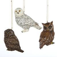 "Christmas Ornament - ""Owl Ornaments"""