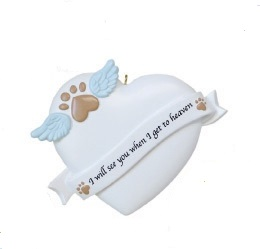 "Christmas Ornament - ""Pet Remembrance Ornament"""