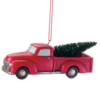"Christmas Ornament - ""Pickup Truck Ornament"""