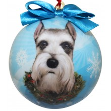 "Christmas Ornament - ""Schnauzer"""