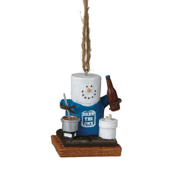 """Christmas Ornament - """"Smore Brew Beer Ornament"""""""