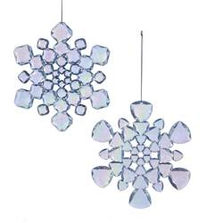 "Christmas Ornament - ""Snowflake Ornament"""