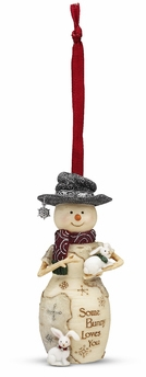 """Christmas Ornament - """"Some Bunny Loves You Ornament"""""""