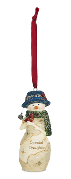 """Christmas Ornament - """"Special Daughter... Ornament"""""""