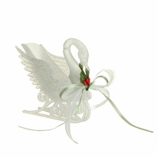 "Christmas Ornament - ""Swan Ornament"""