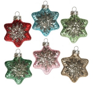 Glass Ornaments - Singles and Sets