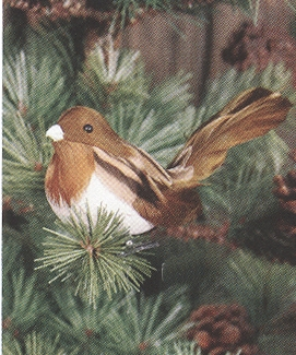 "Christmas Ornaments - ""Chickadee Clip Ornament"""